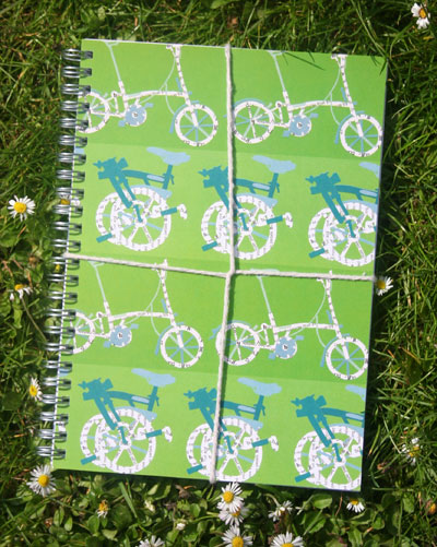 bike notebook